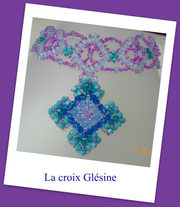 Collier Croix Glésine